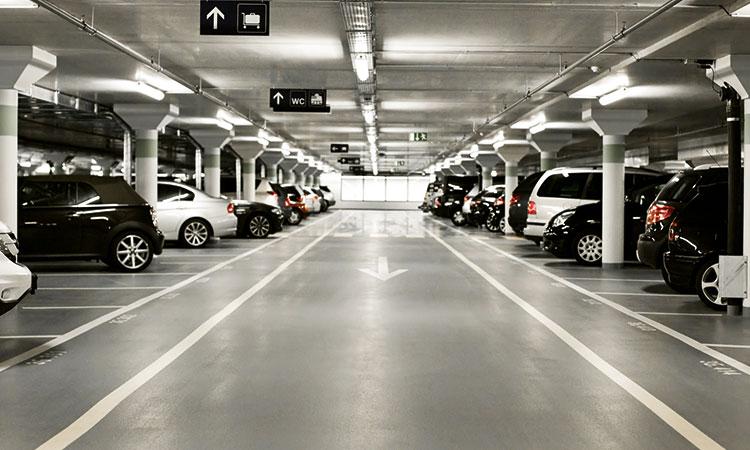 parkering p-skive